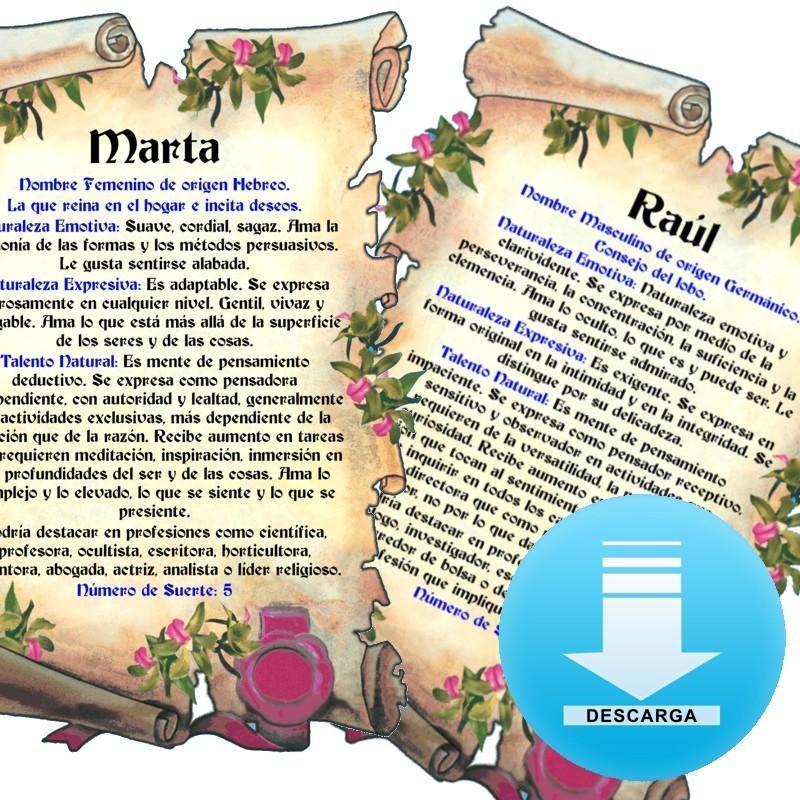 Metopa madera escudo 2 apellidos